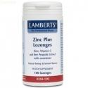Zinc Plus-Pastillas Masticables Lamberts