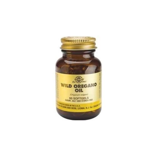 Aceite de Orégano silvestre Cápsulas blandas solgar