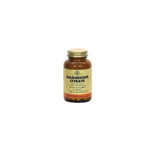 Citrato Magnesio 120 comprimidos Solgar