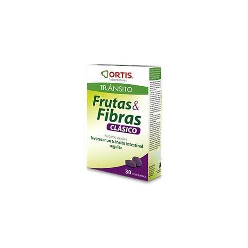 Frutas y Fibra Clasico 30 Comprimidos Ortis