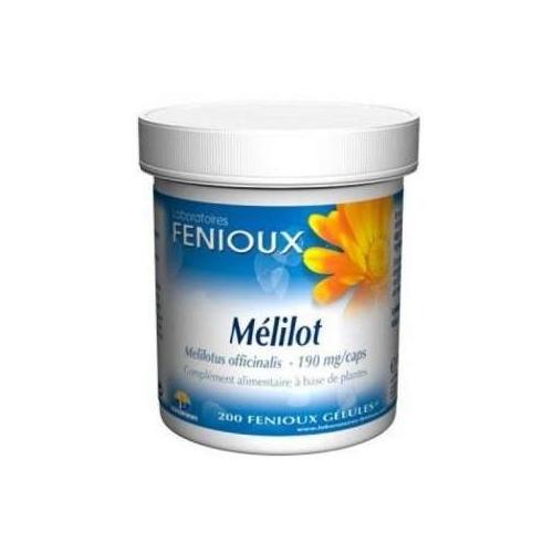 Meliloto Cápsulas 190mg Fenioux