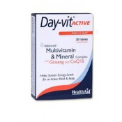 Day Vit Active con Ginseng y Q10 Health Aid