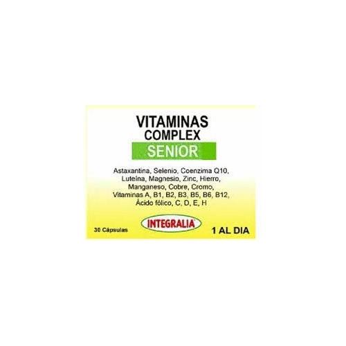 Vitaminas Complex Senior Integralia 30 Capsulas