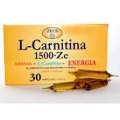 L-carnitina zeus 30 ampollas