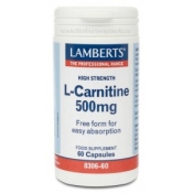 L Carnitina 500mg lamberts Pura