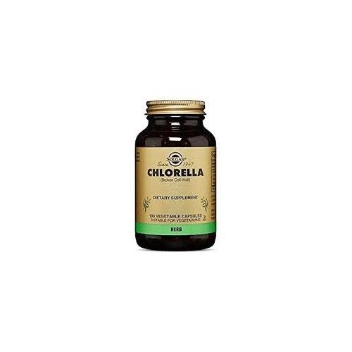 Chlorella solgar 100 vega cap
