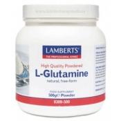 L-Glutamina (polvo de alta calidad) 500gr Lamberts