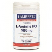 L-Arginina HCI 1000mg Auténtico Lamberts 90 tab
