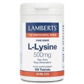 L-Lisina 500mg Lamberts