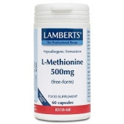L-Metionina 500 mg Lamberts