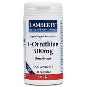 L-Ornitina HCI 500mg Lamberts