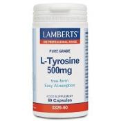 L-Tirosina 500 mg Lamberts