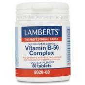 Vitamina B50 Complex 60 tabs Lamberts