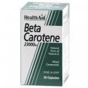 Betacaroteno natural 30cap HealthAid