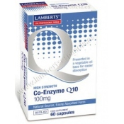 Coenzima Q10 100 mg Lamberts 60 cápsulas