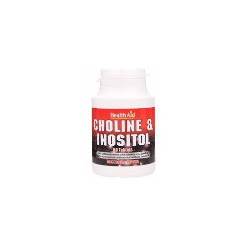 Colina/Inositol 250/250 mg HealthAid