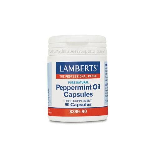 Aceite de menta piperita Lamberts 90 cápsulas