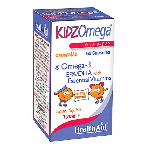 Kidz Omega Healthaid 60 Capsulas masticables
