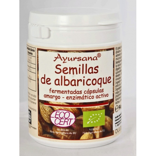 Semillas de albaricoque (B17) Ayursana 160 cap