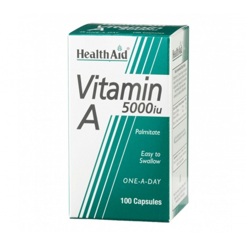 Health aid Vitamina A 5000ui