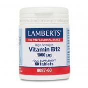 Vitamina b12 1000mcrg Lamberts