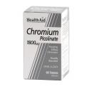 Picolinato de Cromo HealthAid