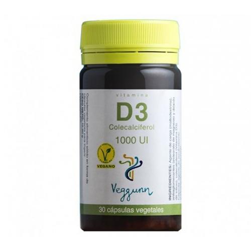 Veggunn D3 30 cápsulas