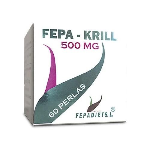 Fepa Krill 60 perlas 500mg Omega 3