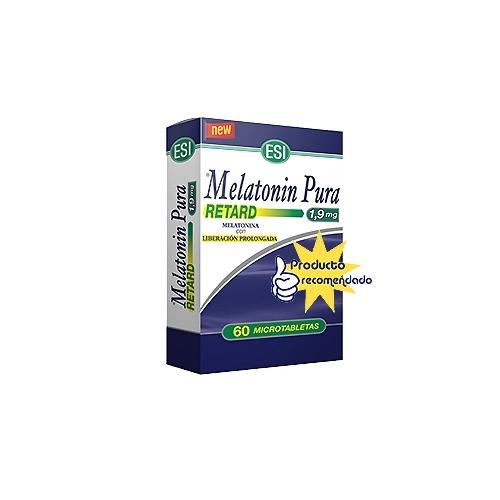 Melatonina 1,9 Retard Esi 60 microtabletas