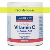 Vitamina C polvo Lamberts