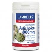Alcachofa de alta potencia 8000mg lamberts