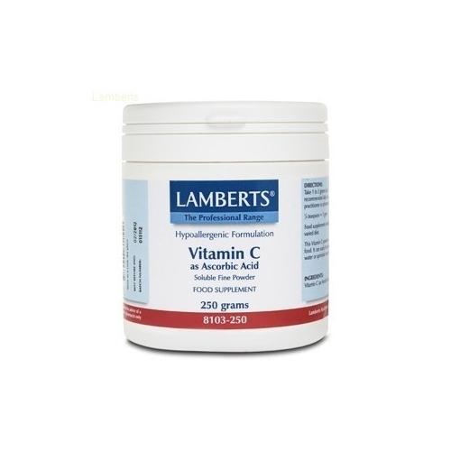 Ácido Ascórbico 250 GR polvo Vitamina C