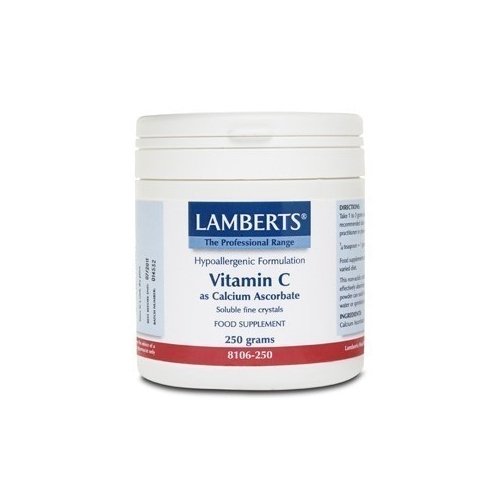 Ascorbato de calcio polvo 250 gr Vitamina C