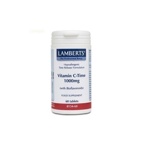 Vitamina c 1000mg liberacion sostenida 60 tabs